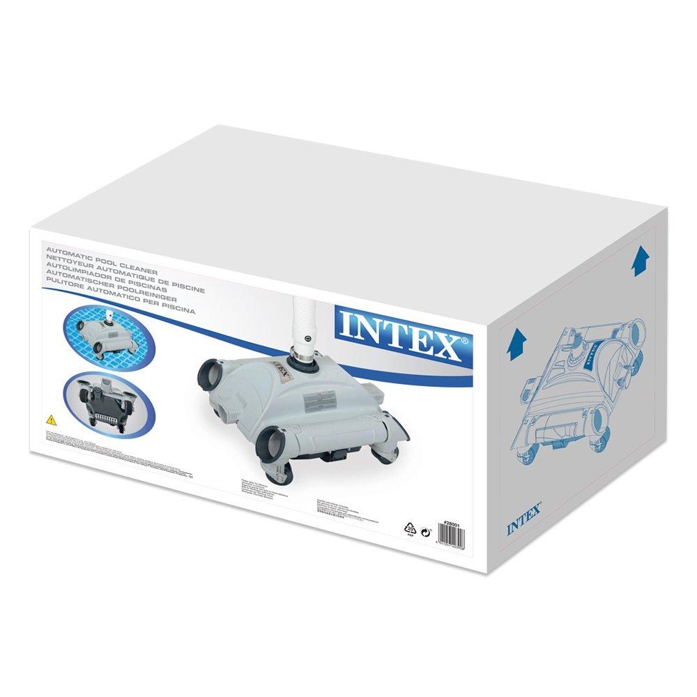 intex 9 Robot de piscine nettoyeur de fond pour piscines hors-sol pour  filtration entre 9 et 9 m9/h